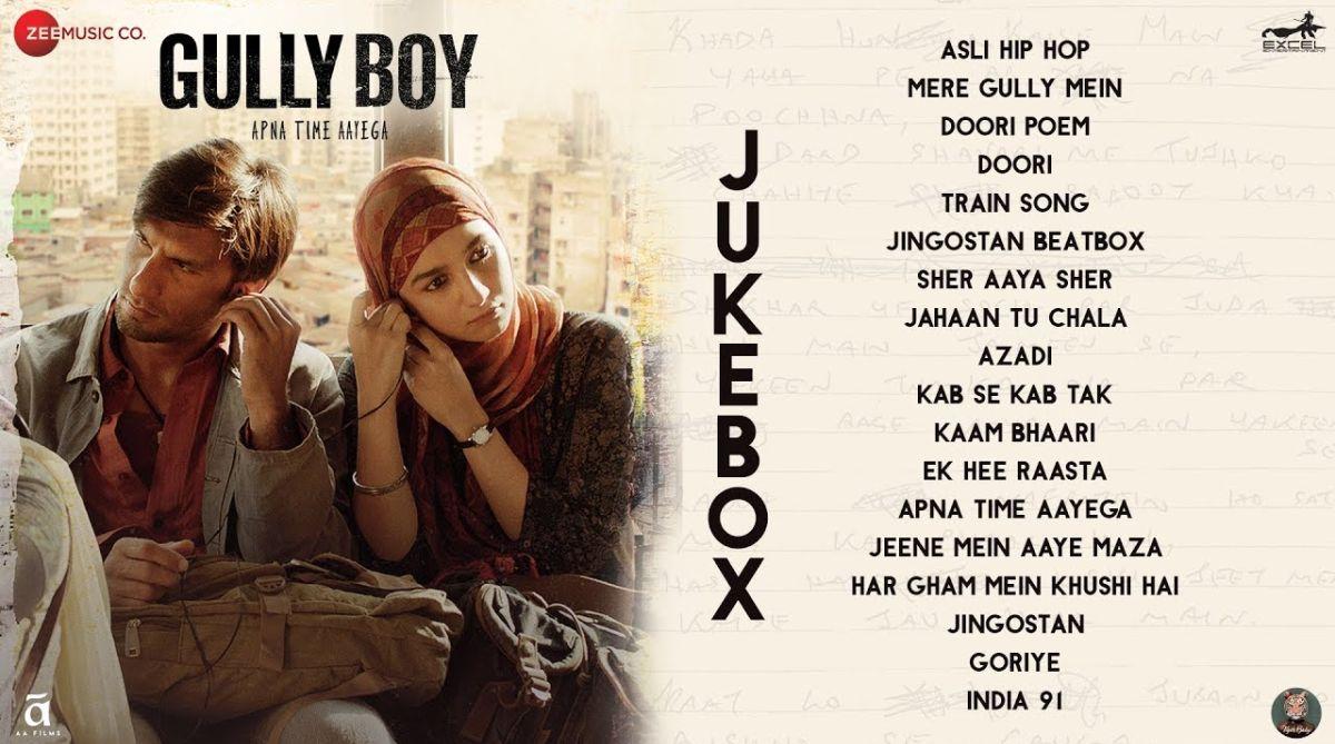 Gully Boy – Audio Jukebox | Ranveer Singh & Alia Bhatt | Divine & Naezy