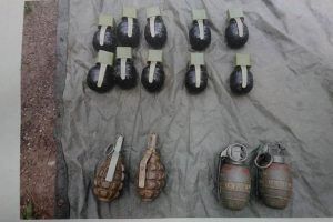 Army, JKP recover grenades, foil Pak terror attack