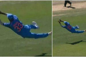 India vs New Zealand, 3rd ODI | Watch: Hardik Pandya takes a stunner to dismiss Kane Williamson