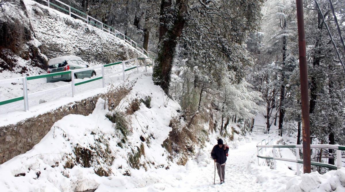 Intense cold wave, Himachal Pradesh, Snow, Western disturbance