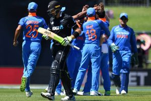 India vs New Zealand First ODI: Mohammed Shami becomes fastest Indian to 100 wickets
