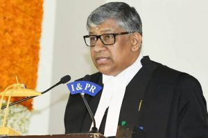Telangana High Court's first Chief Justice TBN Radhakrishnan sworn in