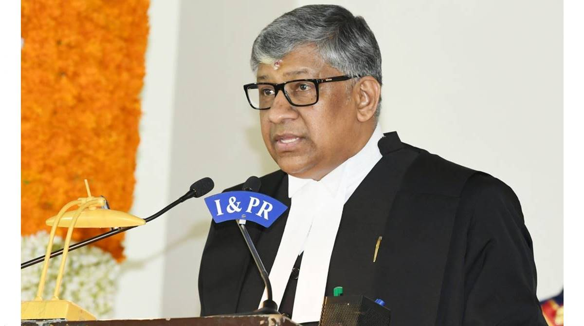 Telangana Chief Justice TBN Radhakrishnan, Telangana High Court, Andhra Pradesh High Court, Supreme Court, Governor ESL Narasimhan, Justice Praveen Kumar