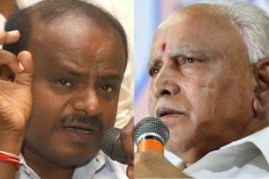 Kumaraswamy claims BJP approached Congress MLA with money, BSY calls it baseless statement