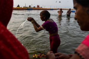 First Shahi Snan at Kumbh: Thousands take holy dip on Makar Sankranti