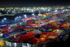 Fire in Kumbh Mela venue destroys tents, no one injured