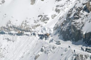 Ladakh avalanche: Rescue teams recover four bodies, search on for six buried under snow