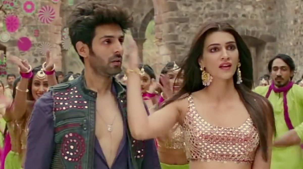 Luka Chuppi Poster Lagwa Do Song Kartik Aaryan Kriti Sanon The