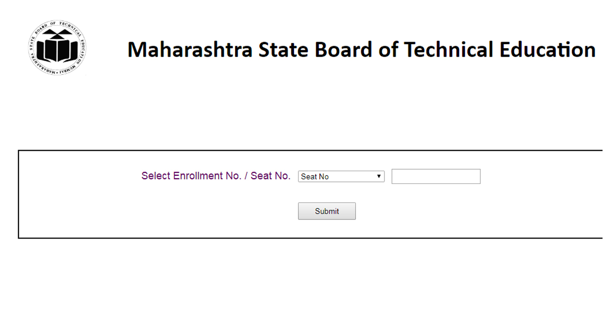 MSBTE winter diploma, msbte.org.in, MSBTE Results 2018, MSBTE, Maharashtra State Board of Technical Education