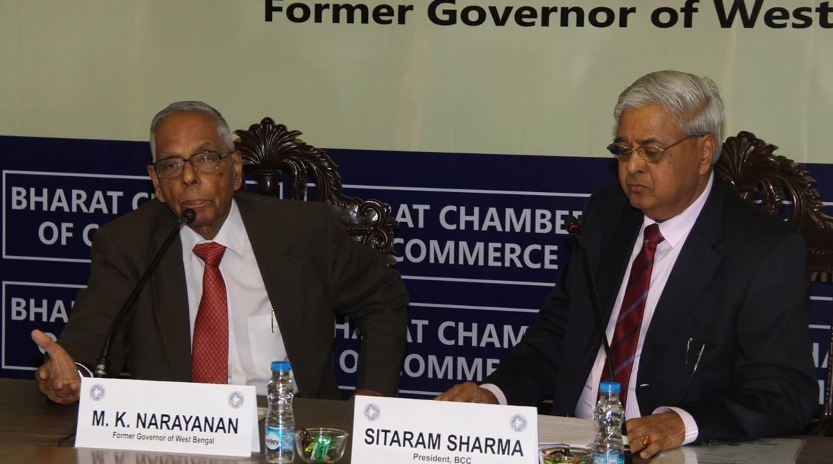 National Security Adviser, MK Narayanan, Spy master, The Accidental Prime Minister, Sanjaya Baru, Bharat Chamber of Commerce, Rafale controversy, Mamata Banerjee, Manmohan Singh