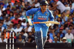 MS Dhoni becomes fifth cricketer to score 10,000 ODI runs for India