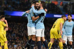 Man City hit thrash Burton Albion 9-0 to cruise towards League Cup final
