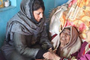 Mehbooba Mufti kicks up row by visiting families of slain terrorists