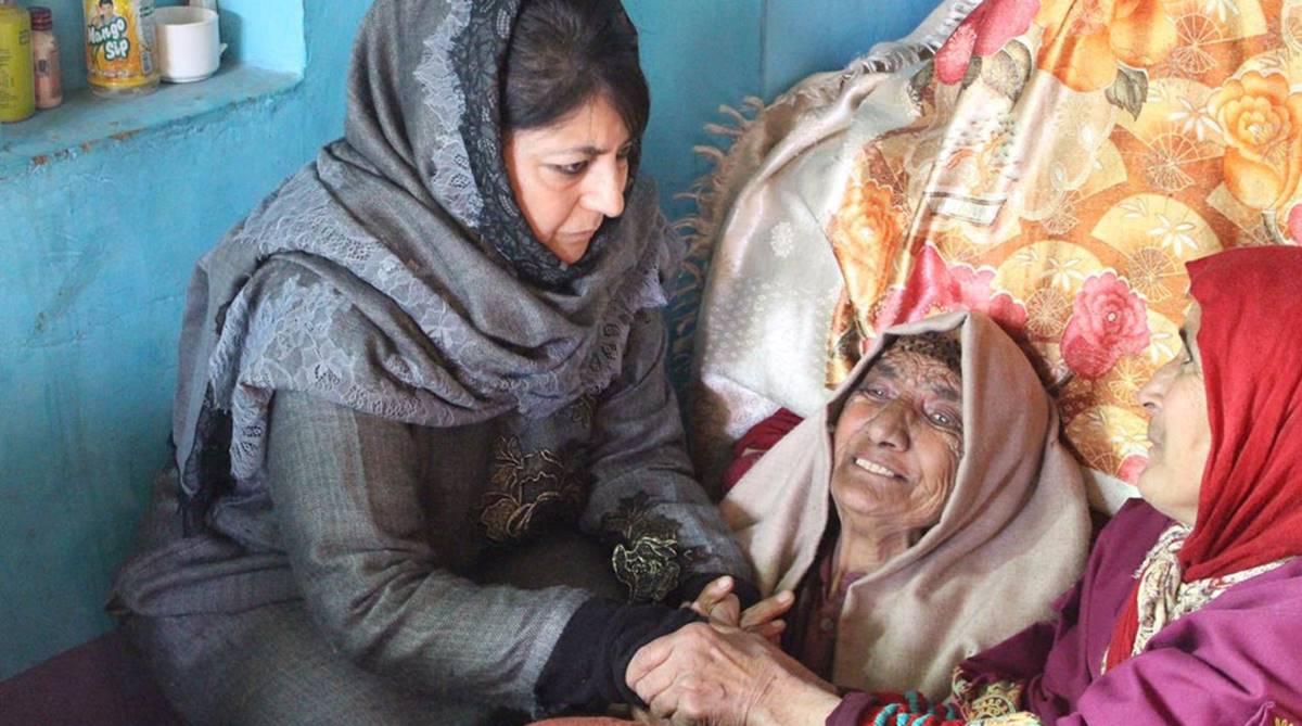 Mehbooba Mufti, slain terrorists, J-K encounter, J-K terrorists, Jammu and Kashmir, Satya Pal Malik