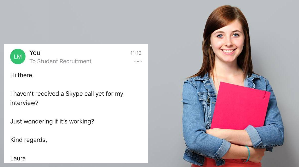 Microsoft job interview, Microsoft, Job interview, Laura MacLean, Skype interview, Interview call, Microsoft viral