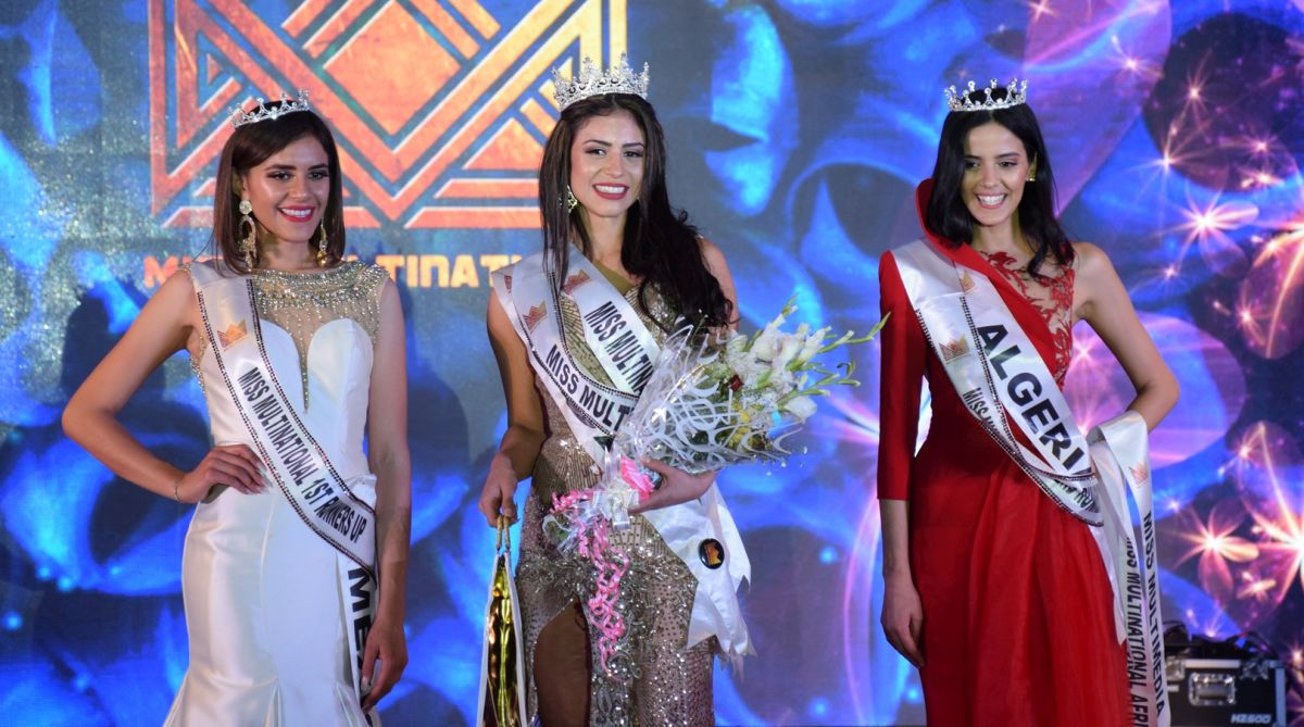 Daniela Nieto from USA is Miss Multinational 2018