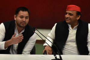 RJD leader Tejashwi Yadav welcomes SP-BSP alliance, slams BJP