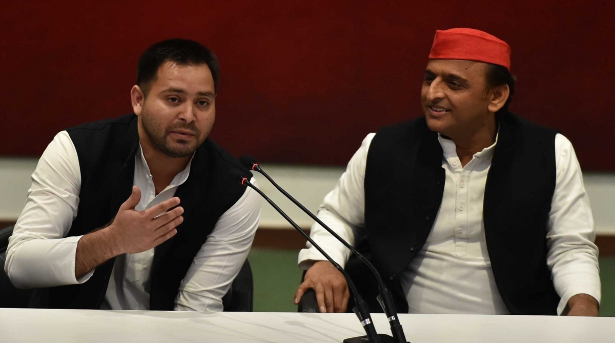 RJD, Tejashwi Yadav, SP-BSP alliance, BJP