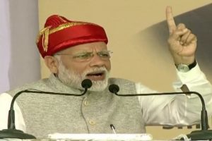 BJP is here to serve, oppn wants to build their empire: Modi on alliance