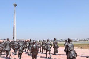 PM Modi inaugurates National Salt Satyagraha Memorial at Dandi