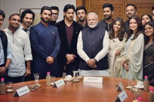 The Prime Minister's squad: Ranbir Kapoor, Alia Bhatt, Ranveer Singh others meet PM Modi
