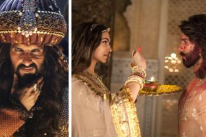 1 year of Padmaavat: Deepika Padukone and Ranveer Singh tease audience with BTS