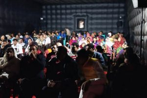 Mobile movie theatre comes to Amethi