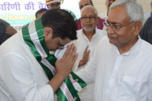 Lens on Nitish Kumar for inducting Prashant Kishor into JDU