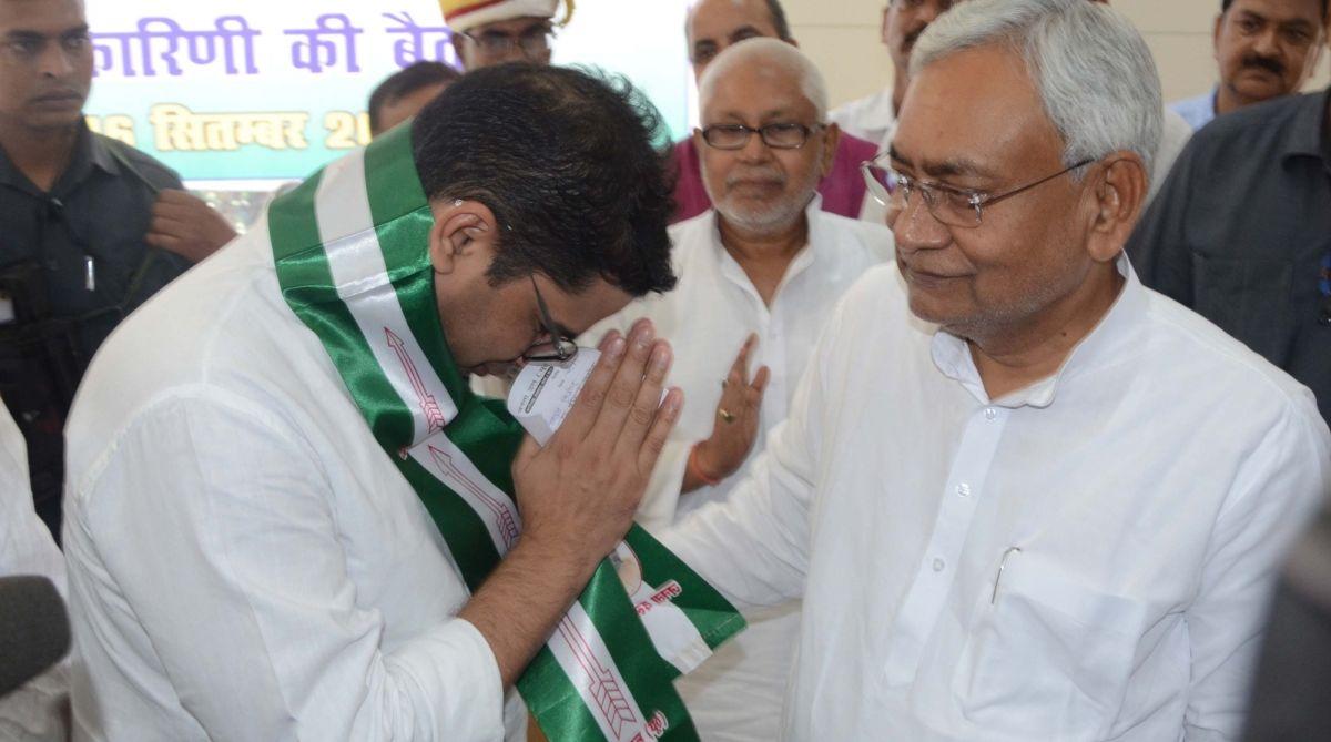 Lens on Nitish Kumar for inducting Prashant Kishor into JDU