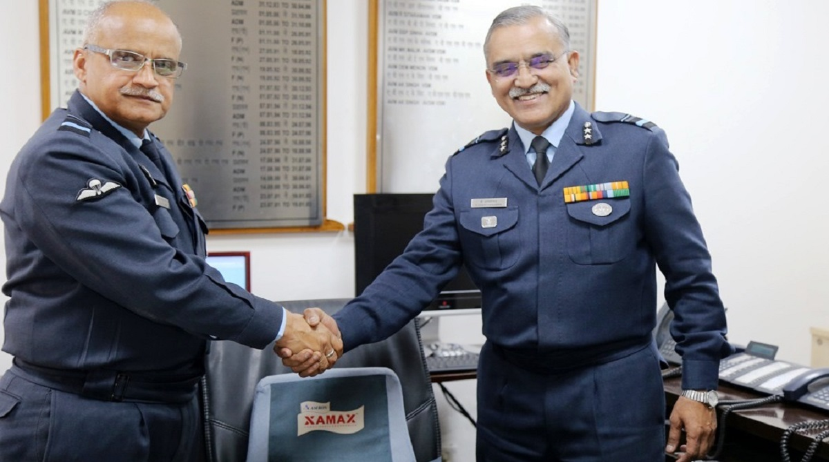 HQ Western Air Command gets new SOA, Air Vice Marshal K Anantharaman VSM, Senior Officer-in-charge of Administration, Headquarters Western Air Command, Air Vice Marshal AK Singh AVSM VSM, Indian Air Force, IAF, Ex-Gagan Shakti 2018, Presidents Standards Presentations, Air Force Day Parade, Hindon