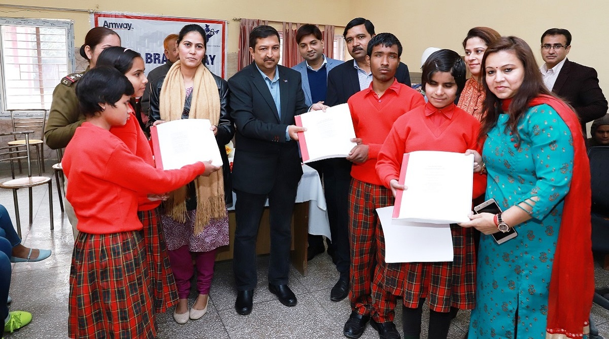 Louis Braille Day celebrated, Amway, All India Confederation of the Blind, Accessible India