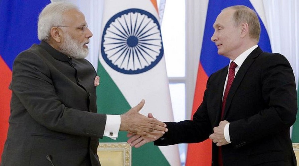 Putin Modi talk over phone, Russian President Vladimir Putin, Prime Minister Narendra Modi, Russian Embassy in New Delhi, New Year 2019, Christmas, External Affairs Ministry, Lok Sabha elections, Eastern Economic Forum, United Nations, BRICS