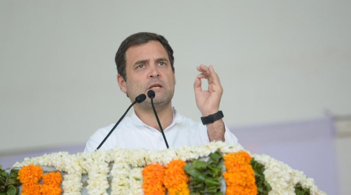 Rahul Gandhi, BJP, PM Modi, Farmers' rally, Jaipur