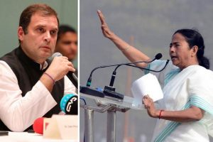 Rahul Gandhi announces support as Mamata says 'united Opposition rally' will sound BJP's death knell