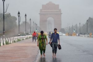 Heavy rains, hailstorm lash parts of Delhi, north India; 15 trains delayed