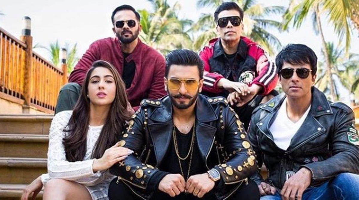 Ranveer Singh, Sara Ali Khan, Sonu Sood, Rohit Shetty, Karan Johar