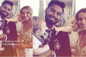"""Rishabh Pant meets Tim Paine's wife and kids, gets the """"best babysitter"""" honour"""