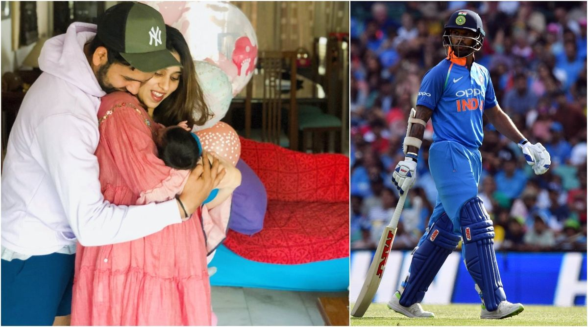 Watch   Shikhar Dhawan has some advice for new father Rohit Sharma