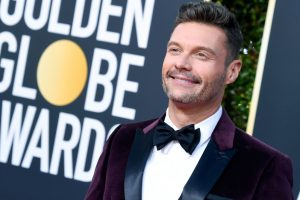 Ryan Seacrest slammed for flaunting Time's Up bracelet at Golden Globes