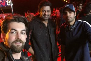 Saaho: Prabhas, Neil Nitin Mukesh share glimpses from sets | See pics and video
