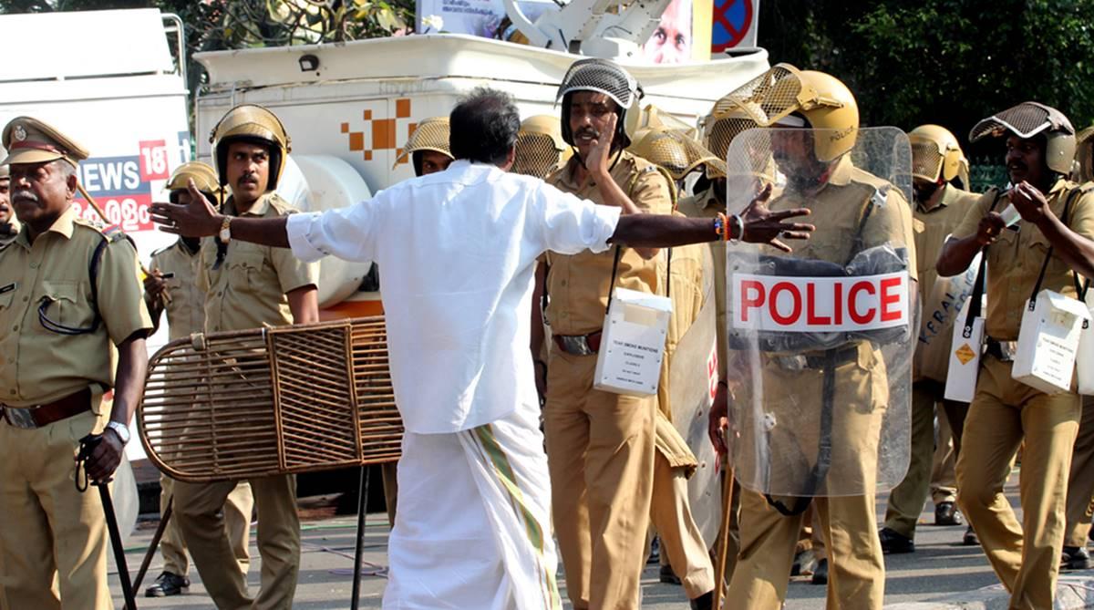 Hartal, Kerala hartal, Sabarimala protests, Sabarimala temple, Women's entry into Sabarimala, Chandran Unnithan, CM Pinarayi Vijayan, Sabarimala Karma Samithi