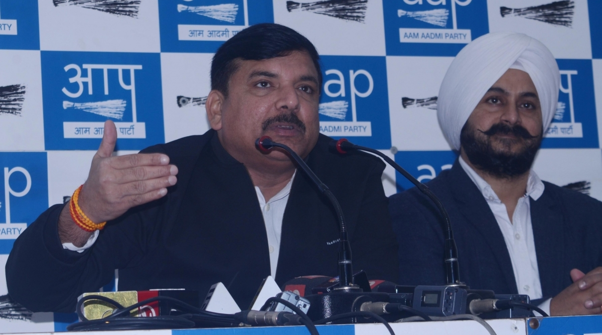 AAP, Untrustworthy EVMs, Ballot papers, Sanjay Singh