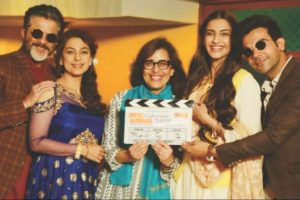 Fortunate to have Anil and Sonam as father-daughter in my film: Shelly Chopra