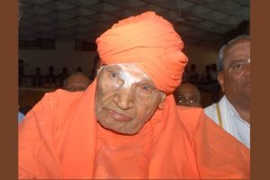 Shivakumara Swami, Karnataka's 111-year-old powerful Lingayat seer, critical