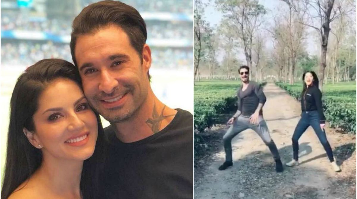 Aankh Marey version by Sunny Leone and husband Daniel Weber will wipe away your Monday blues | Watch video