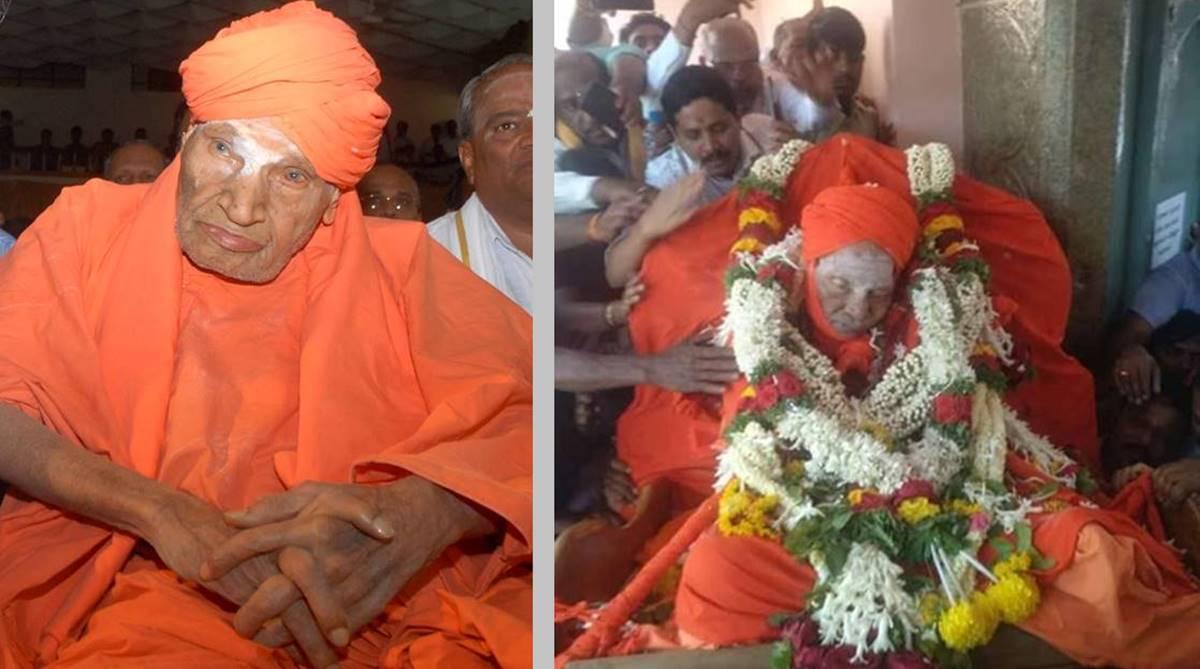 Shivakumara Swamiji, Siddaganga Mutt, Lingayat leader, Lingayat seer, Sree Siddaganga Education Society, trividha dasohi