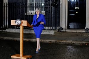 British PM May wins confidence vote, calls on MPs to work together to deliver Brexit
