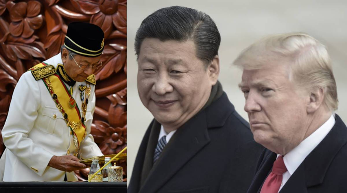 Storm clouds, US-China relations, Brexit, Elections 2019, Singapore, Malaysia, Donald Trump, China, Mahathir Mohamad