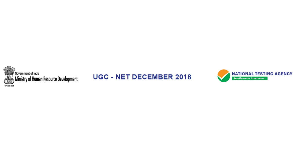 UGC NET December 2018, final answer keys, question paper, ntanet.nic.in