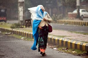 Winter chill returns in UP after overnight rain
